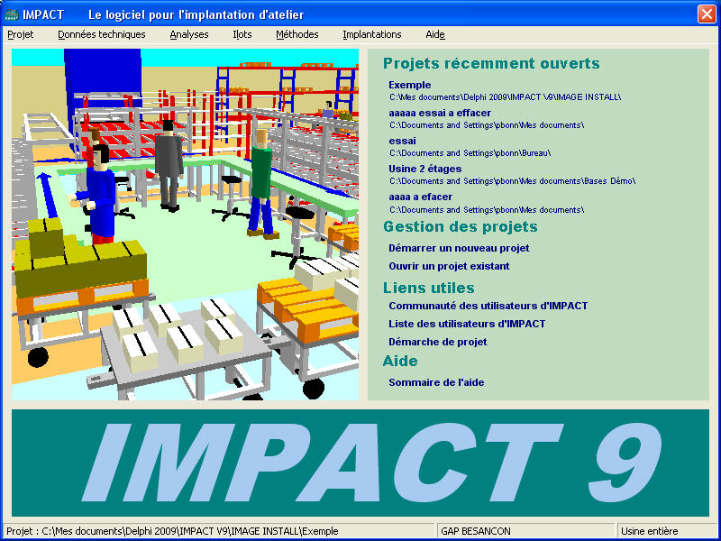 Impact qlio annecy transfert for Logiciel implantation cuisine